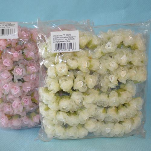 Cvet za dekoraciju dve boje