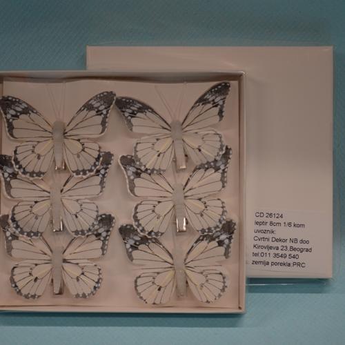 Leptir set od 6 komada dekoracija