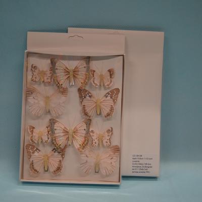 Leptiri set od 10 komada dekoracija