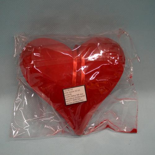 Srce viseće dekoracija 22cm