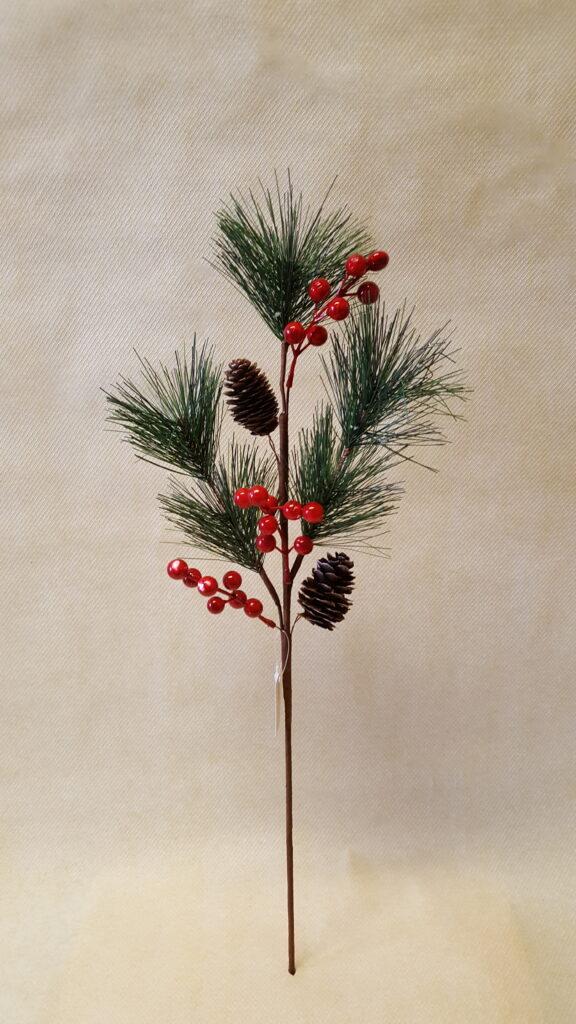Novogodišnja grana 58cm