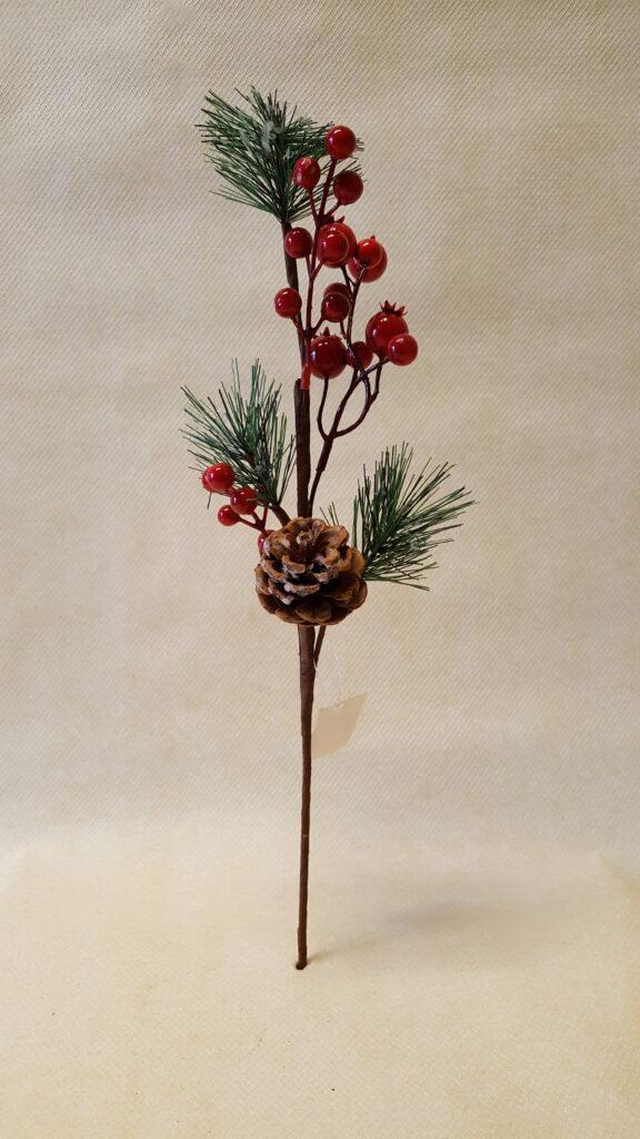 Novogodišnja grana 43cm