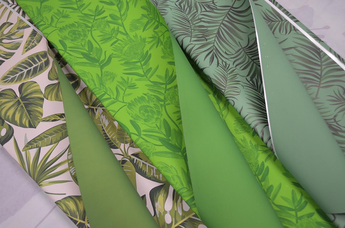 Ukrasni papir zeleni u više varijanti