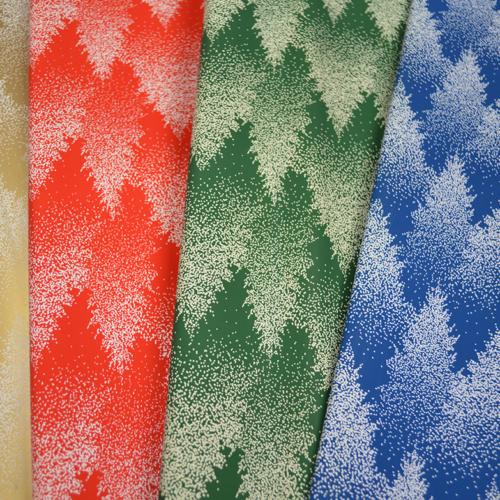 Novogodišnji ukrasni papiri u različitim bojama