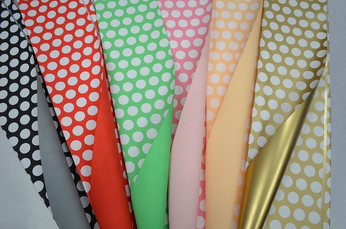 Ukrasni papir u raznim bojama i varijantama
