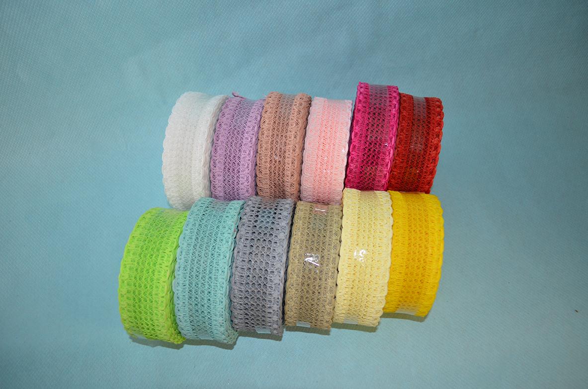 Traka čipka u raznim bojama