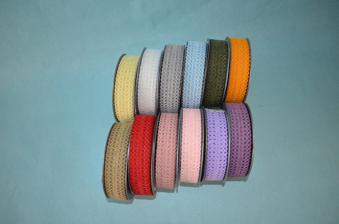 Traka čipka u više boja